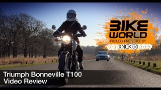 3. 2017 Triumph Bonneville T100 Review