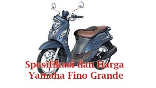 Sabtu 18 Februari 2017, Yamaha Indonesia secara resmi telah meluncurkan Yamaha Fino Grande. Yamaha Fino Grande ini akan dipersenjatai dengan mesin berkapasitas 125 cc tipe SOHC.Di sisi lain, di bawah jok dari Yamaha Fino Grande ini juga disediakan bagasi Megabox seluas 8.7 liter yang akan cukup mampu untuk memuat barang lebih banyak guna menunjang aktivitas setiap pengguna. Selain memiliki rangka, untuk struktur bodi Yamaha Fino Grande ini pun memiliki dimensi yang pas dengan panjang 1.870 mm, lebarnya 700 mm, dan tingginya mencapai 1.066 mm dengan jarak sumbu rodanya mencapai 1.260 mm. untuk memperkokoh sektor kaki-kakinya ini maka Yamaha Fino Grande ini akan dibekali dengan velg 14 inci di mana velg tersebut akan terbalut ban yang berukuran 70/90-14M/C 34P untuk bagian depan