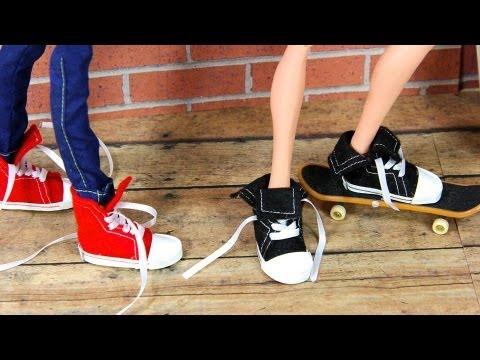 Как сделать кену обувь