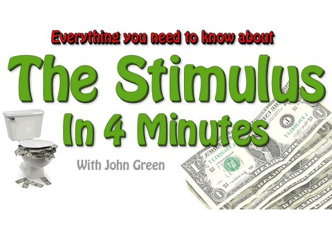 Stimulus - In which John discusses the financial crisis, recessions, and the fiscal stimulus bill just passed by the US Congress and expected to be signed by President ...