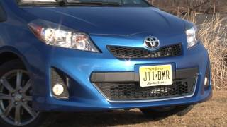 2012 Toyota Yaris - Drive Time Review With Steve Hammes