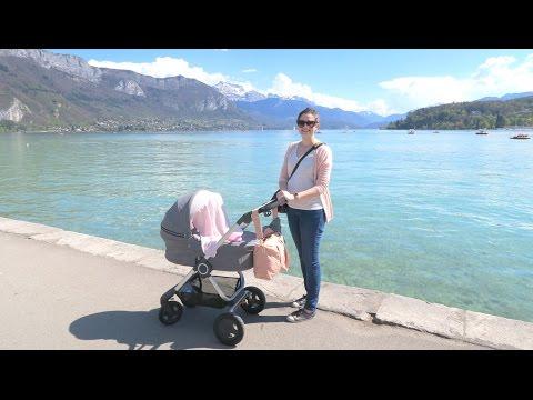 VLOG | Shooting photo et sortie poussette au lac d'Annecy