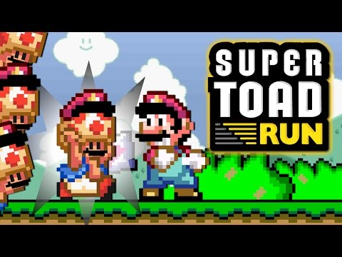 Super Toad Run (Animation Parody)