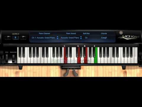 Piano 18 piano chords : alicia keys no one chords on piano