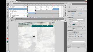 How to Build a Website in Flash CS5? - Part 11