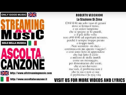 , title : 'Roberto Vecchioni - La Stazione Di Zima (Lyrics / Testo)'