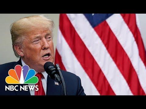 President Donald Trump Participates In Bill Signing | NBC News