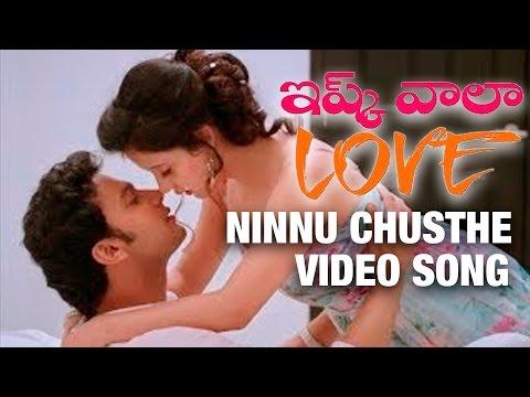 Video Ninnu Chusthe Video Song - Ishq Wala Love Movie - Renu Desai, Adinath Kothare, Sulagna Panigrahi download in MP3, 3GP, MP4, WEBM, AVI, FLV January 2017