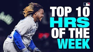 Top 10 Home Runs of the Week, 20 Mayo 2019