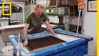 See How Paper Is Still Being Made by Hand Today | Short Film Showcase