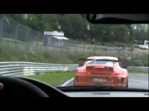 BMW M3 GTS and Porsche GT3 RS Nurburgring 7min55 BTG