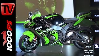 1. Kawasaki Ninja ZX-10R 2016 | First Look - Presentation - technical Specs