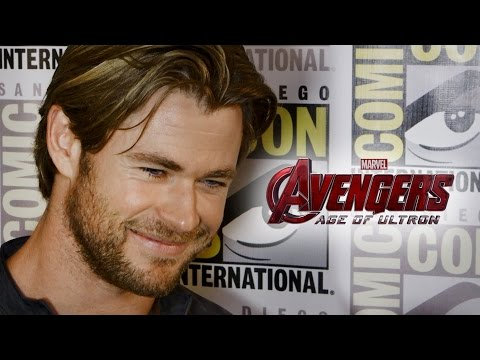chris - Robert Downey Jr Interview ▻ http://youtu.be/epsUyDEepys Subscribe Now! ▻ http://bit.ly/SubClevverMovies Chris Hemsworth talks all things Avengers: Age of Ultron at Comic-Con 2014. For...