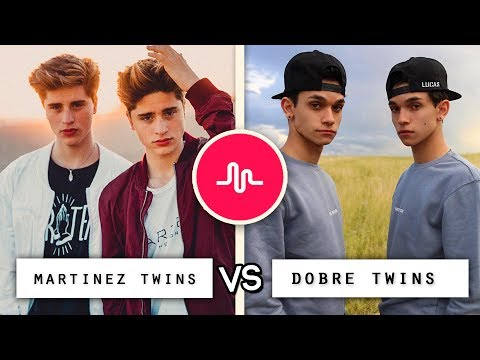 Dobre Twins vs Martinez Twins Musical.ly Video Co