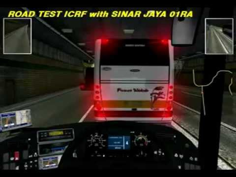 Road Test ICRF Map With Sinar Jaya 01 RA Jetbus (UKTS).3gp