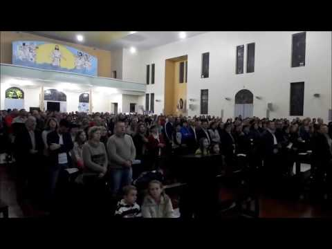Missa Santa Paulina em Crissiumal