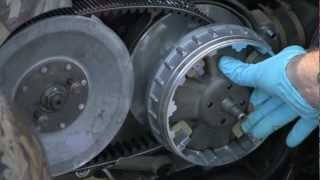 10. Yamaha Grizzly Clutch install part 2