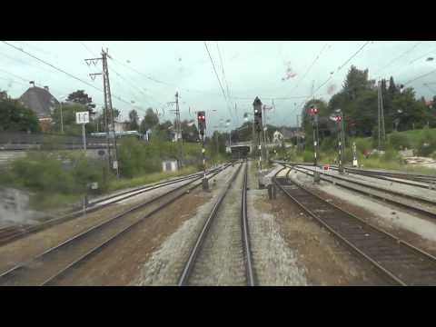 Führerstandsmitfahrt Salzburg-Rosenheim
