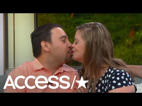 'Born This Way': Cristina Sanz & Angel Callahan Spill Wedding Details | Access