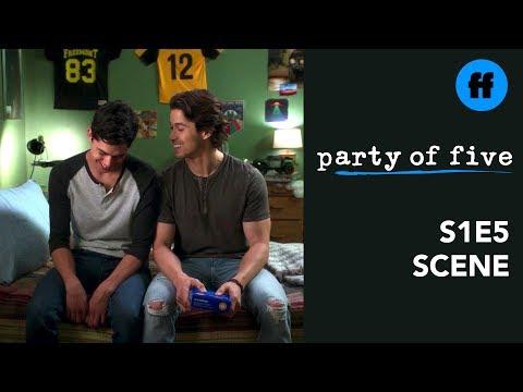 Party of Five Season 1, Episode 5 | Beto Gets The Sex Talk | Freeform
