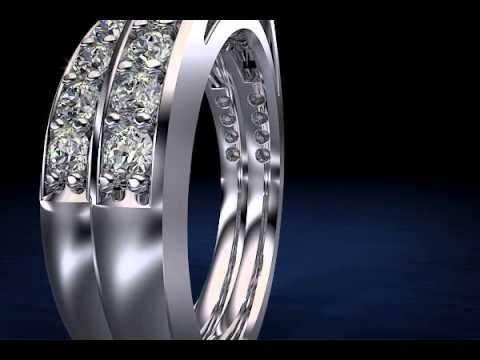 Anjolee's Matching Diamond Bridal Sets