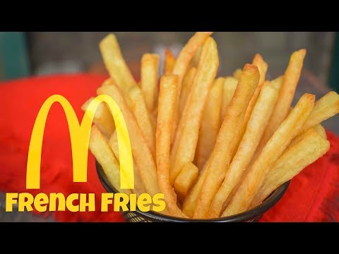 How to make McDonald's French Fries Recipe at Home | Homemade French Fries Recipe | Hindi/Urdu