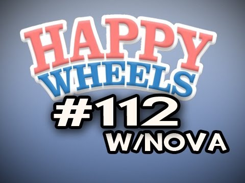 Happy Wheels w/Nova Ep.112 - Mid-Air Little Boy Catch Video