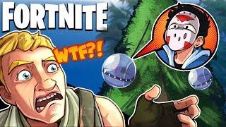 The BALLER Tree Challenge! - Fortnite Battle Royale