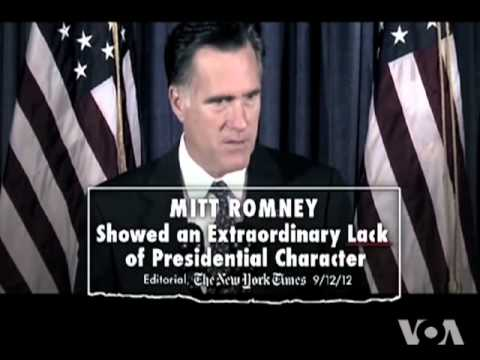 Romney Slams Obama on Foreign Policy