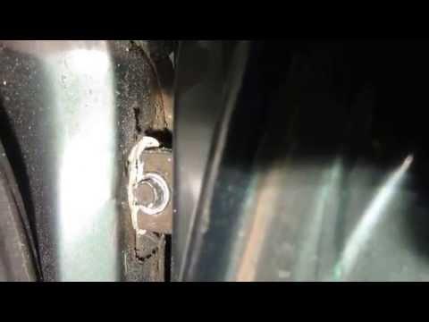 Ремонт двери ваз 2112
