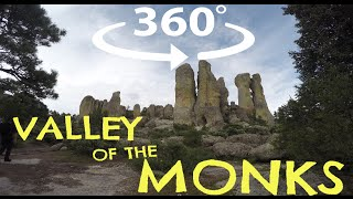 360º VIDEO: The Valley of the Monks, Chihuahua, Mexico.
