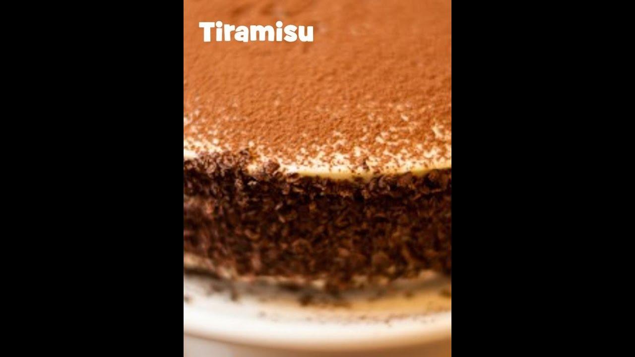 Torta al Tiramisù con Pan di Spagna ♥ VIDEORICETTA