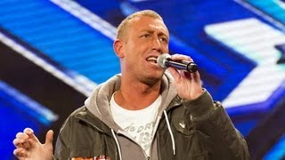 Christopher Maloney's audition - Bette Midler's The Rose - The X Factor UK 2012