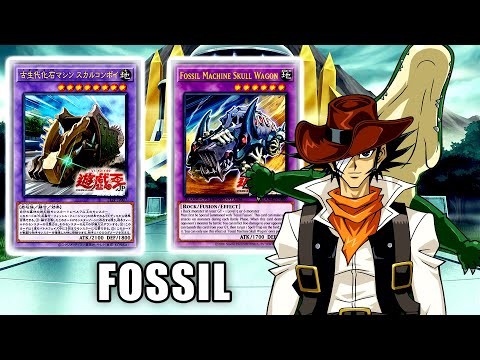 【YGOPRO】Fossil Deck New Support Fossil Machine Skull Wagon Yugioh