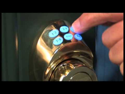 Screen capture of Electronic Keypad Deadbolt