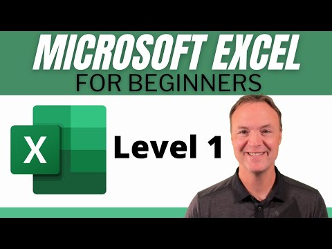 Microsoft Excel - 2018 Beginners Tutorial