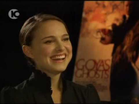 Natalie Portman talking about her love for Israel