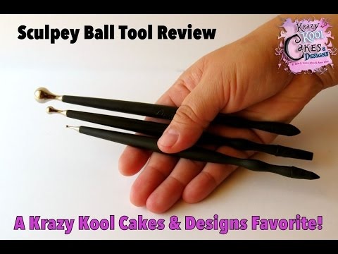Sculpey Ball Tool Product Review: Dessert Network Product Review Collaboration