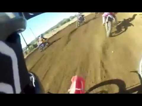 Tremendo accidente de Motocross