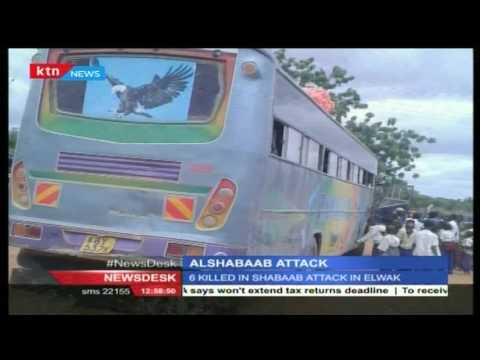 WARNING - DISTURBING VIDEO: How al Shabaab executed attack against travelers, killing six people