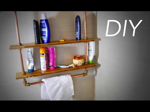 DIY Regal für die Dusche / Badezimmer Anleitung