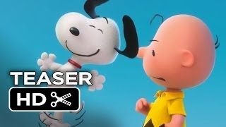 Peanuts Teaser TRAILER 1 (2015) - Animated Movie HD