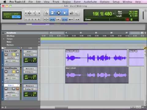 Vocal Widening Technique – TheRecordingRevolution.com