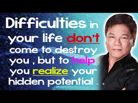 Ed Lapiz Preaching 2021 ✋ Difficulties In Your Life Don't Come To Destroy You 🎀