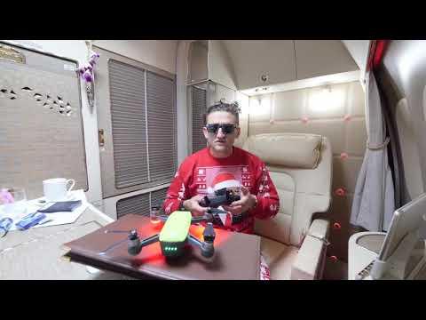 Casey Neistat Flying Drone in a Flying Aeroplane | DJI SPARK