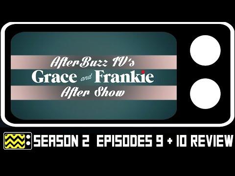 Grace & Frankie Season 3 Episodes 9 & 10 Review & After Show | AfterBuzz TV
