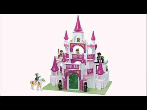 Video Video ad on the Girls Dream Castle 508 Pieces Building