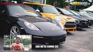 Kiedy biedak chce kupić Porsche…