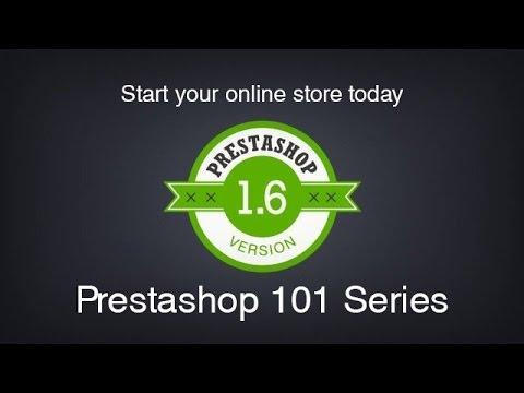 Prestashop: Prestashop 101 Day 3 (1.6) - Categories and Products