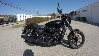 4. 2017 Harley Davidson Street 500 - Test Ride Insights - Is this a real Harley ? South San Francisco